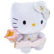 TY 7140960 - Hello Kitty, Angioletto con bacchetta magica e brillantini, 14 cm
