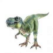 Schleich Tyrannosaurus Rex Green Toy Dinosaur Hand Painted Figurine