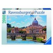 Ravensburger 16686 - Castel Sant'Angelo: Roma Puzzle, 2000 Pezzi