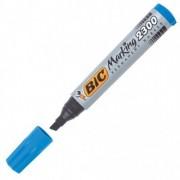 Marker permanent, 3.1-5.3mm, albastru, BIC 2300