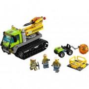 LEGO® City Tractor cu șenile pentru vulcan 60122