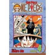 One Piece: v. 4 by Eiichiro Oda