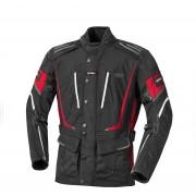 IXS Powell Chaqueta textil de las señoras Negro/Rojo/Blanco M