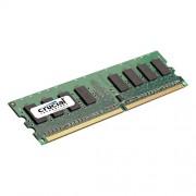 Crucial CT25672AA80E RAM Module - 2 GB - DDR2 SDRAM - 800 MHz DDR2-800