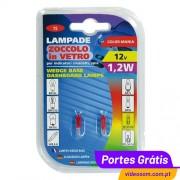 LAMPA -LÂMPADA T5 1,2W VERMELHO