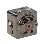 SQ8 Full HD 1080P 30fps Pocket Digital Video Recorder Camera Camcorder Ultra-Mini Metal DV with IR Night Vision Support Motion Detecting