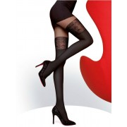 Ciorapi cu model Fiore Noira 60 den