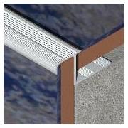 LDA105 - Protectie treapta ceramica LINECO din aluminiu eloxat, 10 mm