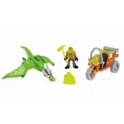 Imaginext Dino Pterodactyl And ATV Set With Explorer