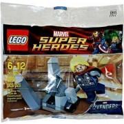 ЛЕГО супер герои - Тор и космическия куб, Lego Super Heroes Thor and the Cosmic cube, 30163