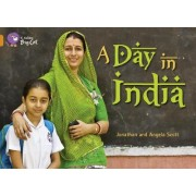 Collins Big Cat: A Day in India: Band 6/ Orange by Jonathan Scott