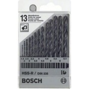 Bosch CASETA 13 BURGHIE HSS-R (1,5 - 6,5 mm) - BSH-1609200201