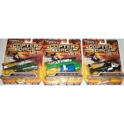 (3) Tonka Copter Force Metal Diecast Bodied 5 Inch Planes/Diaster Relief 111/Police Patrol111/Air Commander111