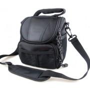 Co2Crea(TM) Black Soft Nylon Digital Camera Case Bag Cover Pouch for Sony Cyber-shot DSC- Cyber-shot DSC-H400 H300 HX400V HX300 H200 HX200V RX1R RX1 NEX 5T 3N 5R F3 F6 Alpha A3000 7