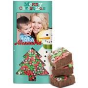 Chocoladereep - Kerst (melk)