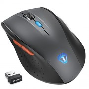 TeckNet Classic 2.4G Nano Wireless Mouse,6 Buttons,18 Month Battery Life,2000 DPI 3 Adjustment Levels