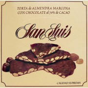 Torta de Almendra Marcona con Chocolate negro