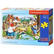 Castorland - Little Red Riding Hood, Puzzle 108 Pezzi