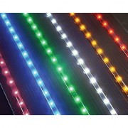LED Light Strip - 35 - 54 Warm White Lights - Package of 2 Strips