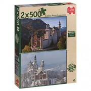 Jumbo Spiele 18348 - Then and Now Seasons, 2 x 500 pezzi