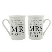 Cani pentru aniversare nunta de argint