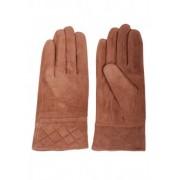 Велурени ръкавици от естествена кожа