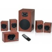 BOXE 5.1 GENIUS SW-HF5.1 4600 WOOD
