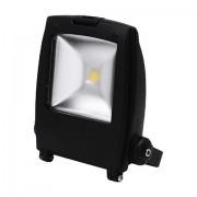 Proiector LED 10W 220V-240V 6500K negru tip cob led