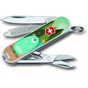 Victorinox 0.6223.L1509 7 Function Multi Utility Swiss Knife(Multi Colour)