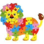 Imported Alphabet Puzzle Educational Toys - Lion