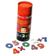 The World of Magnets Magnetic Numbers Board Game