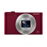 Sony Dscwx500r - Cámara de fotos compacta, zoom 30x de 18 MP (1080p Full HD) rojo