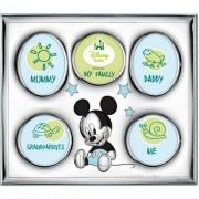 cornice portafoto in argento il mio primo anno mickey mouse