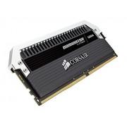 Corsair Dominator Platinum CMD32GX4M4A2400C12 Memoria RAM da 32GB, 4x8GB, DDR4, Nero