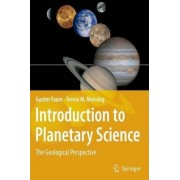 Introduction to Planetary Science by Gunter Faure
