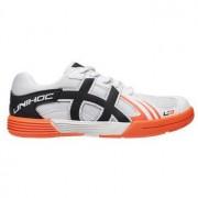 Unihoc U3 Junior white/orange weiß / Orange Kind US 2 / UK 1 / EU 33 / 21,6 cm