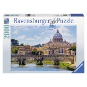 Ravensburger Puzzle Podul Sant Angelo, Roma 2000 piese