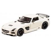 Minichamps 110033021 - 1:18 2013 Mercedes Benz SLS AMG Black Series, Bianco