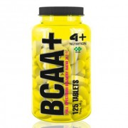 BCAA + 2:1:1 - 125 Tabletes - 4 Plus Nutrition