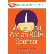 When You are an RCIA Sponsor by Rita Burns Senseman