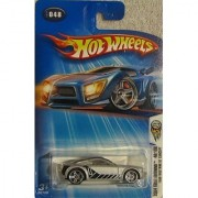 Hot Wheels 2004-048 First Editions Ford Mustang GT Concept 1:64 Scale SILVER - LARGE Headlight Card