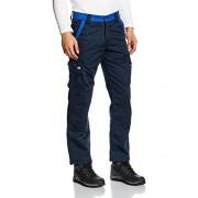 Dickies Industry Pantalones de trabajo, 52, azul marino/azul eléctrico