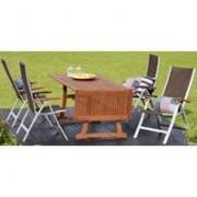 Garnitura za bašte i kafiće Maui - 4 stolice i sto