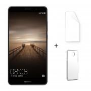 Huawei Mate 9 4 + 64GB Android 7.0 Dual Sim 5.9 '' Cámara Dual 20.0 + 12.0MP Gris + Protector De Pantalla + Estuche