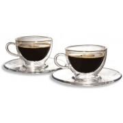 Set cesti sticla Caffee Crema 200 ml 2 bucati/set Tchibo