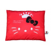"Eikoh Official Sanrio 35th Anniversary Hello Kitty Pillow - Red - 27"" x 20"" x 3"""