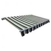 Tenda za terasu i dvorište 3.95x2.5 m Poliester Aluminijum 32-361