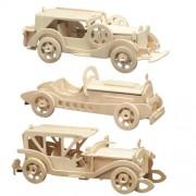 Pebaro 865 - Set per costruzione modellini di auto d'epoca, in legno