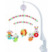 Fehn Activity-mobile with Soft Crossing Arms 23 70's stripes