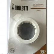Bialetti Brikka 4-hez Felsőszűrő+ gumikészlet